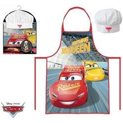 Dětská zástěra Cars