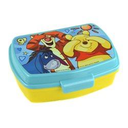 Dětský box na svačinu Medvídek Pú (žlutý)
