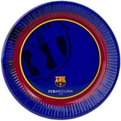 NORSTAR Párty papírové talíře FC BARCELONA 23 cm 6 ks