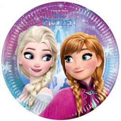 Dětské party talíře Frozen (8 ks)
