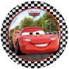 Papírové talíře s Bleskem McQueenem z animované pohádky Cars, které nesmí chybět na žádné oslavě. Základní vlastnosti:průměr: 19,5 cm. balení obsahuje8 ks talířů. licenční výrobek. vyrobeno v EU.