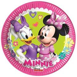 Dětské party talíře Minnie (8 ks)