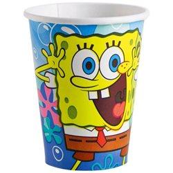 Dětské party kelímky SpongeBob