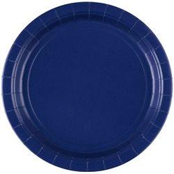 Dětské party talíře modré