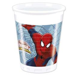Dětské party kelímky Spiderman