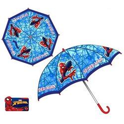 Dětský deštník Spiderman (světle modrý)