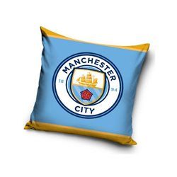 Dětský polštářek Manchester City Logo 40x40 cm