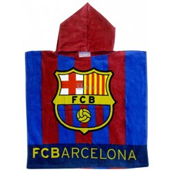 EUROSWAN Pončo FC Barcelona 50x100 cm
