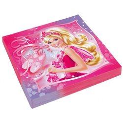 Dětské party ubrousky Barbie