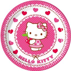 Dětské party talíře Hello Kitty