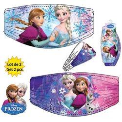 Dětská sada čelenek Frozen Blue&Violet (2 ks)