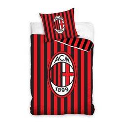 Dětské povlečení AC Milán pruhy 02