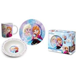 Dětská sada nádobí Frozen (porcelán)
