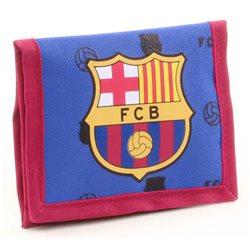 Dětská peněženka FC Barcelona (modrá)