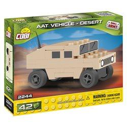 Stavebnice Small Army Nano Humvee pouštní