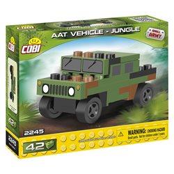 Stavebnice Small Army Nano Humvee zelený