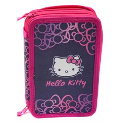 Dětský školní penál Hello Kitty (naplněný)