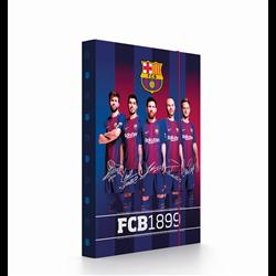 Dětský box na sešity A5 FC Barcelona