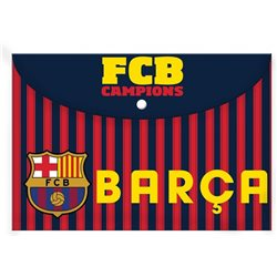Dětské desky na sešity A4 FC Barcelona