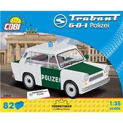COBI Stavebnice Youngtimer Trabant 601 Polizei