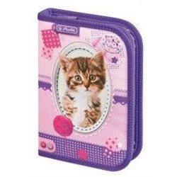 Dětský školní penál Kočka