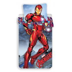 Jerry Fabrics Povlečení Avengers Iron Man 140x200, 70x90 cm