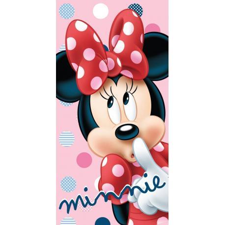 JERRY FBRICS Dětská osuška Minnie Dots 70x140 cm