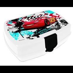 Dětský box na svačinu Cars (bílý)
