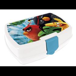 Dětský box na svačinu Angry Birds (bílý)