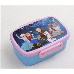 Dětský box na svačinu Frozen (světle modrý)