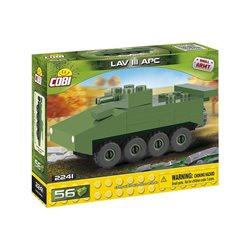 Stavebnice Small Army Nano Tank LAV III APC