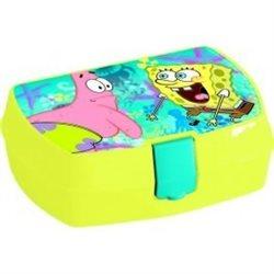 Dětský box na svačinu SpongeBob (žlutý)