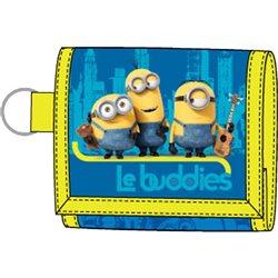 Dětská peněženka Mimoni (modrá)
