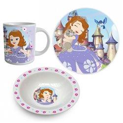 Dětská sada nádobí Princezna Sofie (porcelán)
