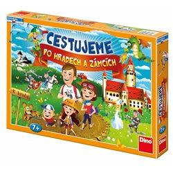 Stolní hra Cestujeme po hradech a zámcích