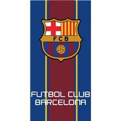 COTTONLAND Bavlněná Osuška FC BARCELONA 01 70x140 cm