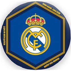 HALANTEX Polštářek Real Madrid 3D 35x35 cm