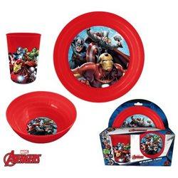 Dětská sada nádobí Avengers (plast)