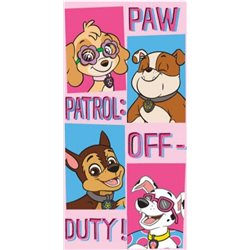SUN CITY Osuška Paw Patrol Off-Duty 70x140 cm