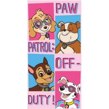 SUN CITY Osuška Paw Patrol Off-Duty 70x140 cm