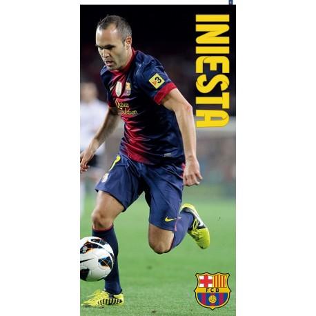 Dětská osuška FC Barcelona - Iniesta