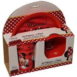 Dětská sada nádobí Minnie (plast)