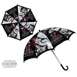 Sun City Dětský deštník Star Wars černý 65 cm