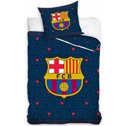 Dětské povlečení FC Barcelona Barca 140x200, 70x80 cm