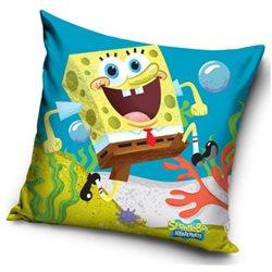 CARBOTEX Polštářek SpongeBob s úsměvem 40x40 cm