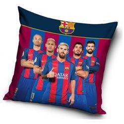 CARBOTEX Polštářek FC Barcelona Team 40x40 cm