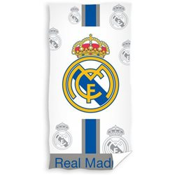 CARBOTEX Osuška Real Madrid Plateado 75x150 cm