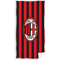 CARBOTEX Osuška AC Milán Stripes 70x140 cm