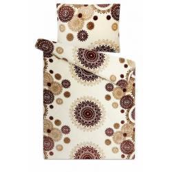 Svitap mikroflanelové povlečení Mandaly vanilka 140x200, 70x90 cm