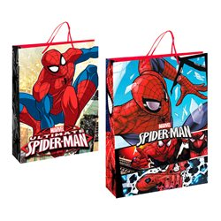 Fabricado dárková taška Spiderman 24x13x32 cm